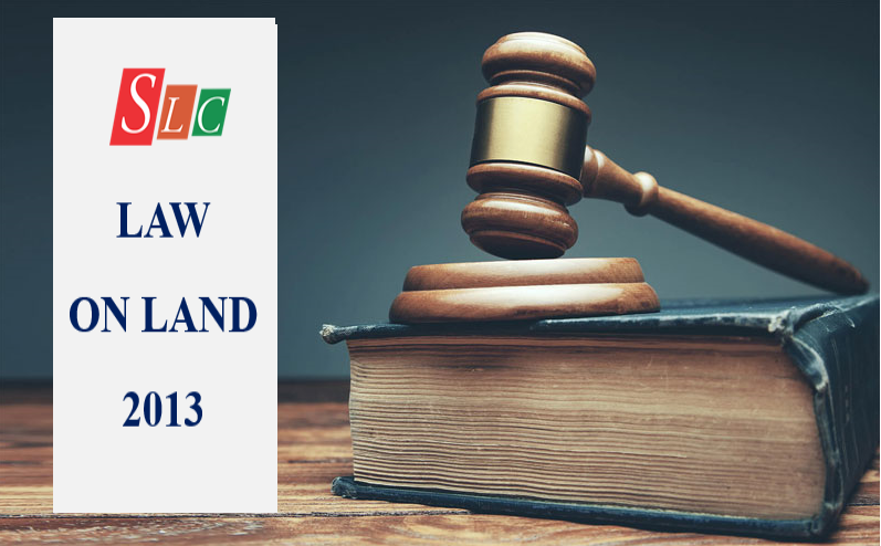 LAW ON LAND 2013