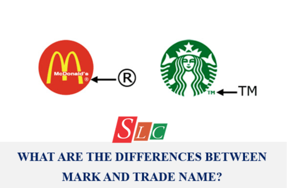 WHAT ARE THE DIFFERENCES BETWEEN MARK TRADE NAME?